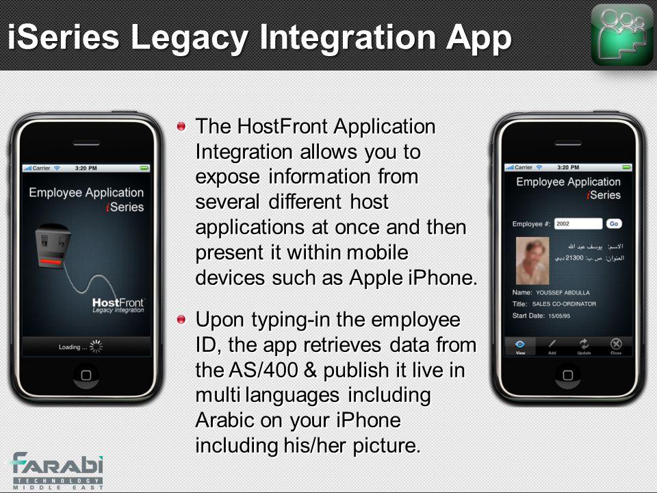 iSeries Legacy Integration App