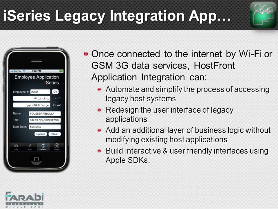 iSeries Legacy Integration App…