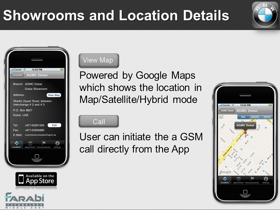 Showrooms and Location Details