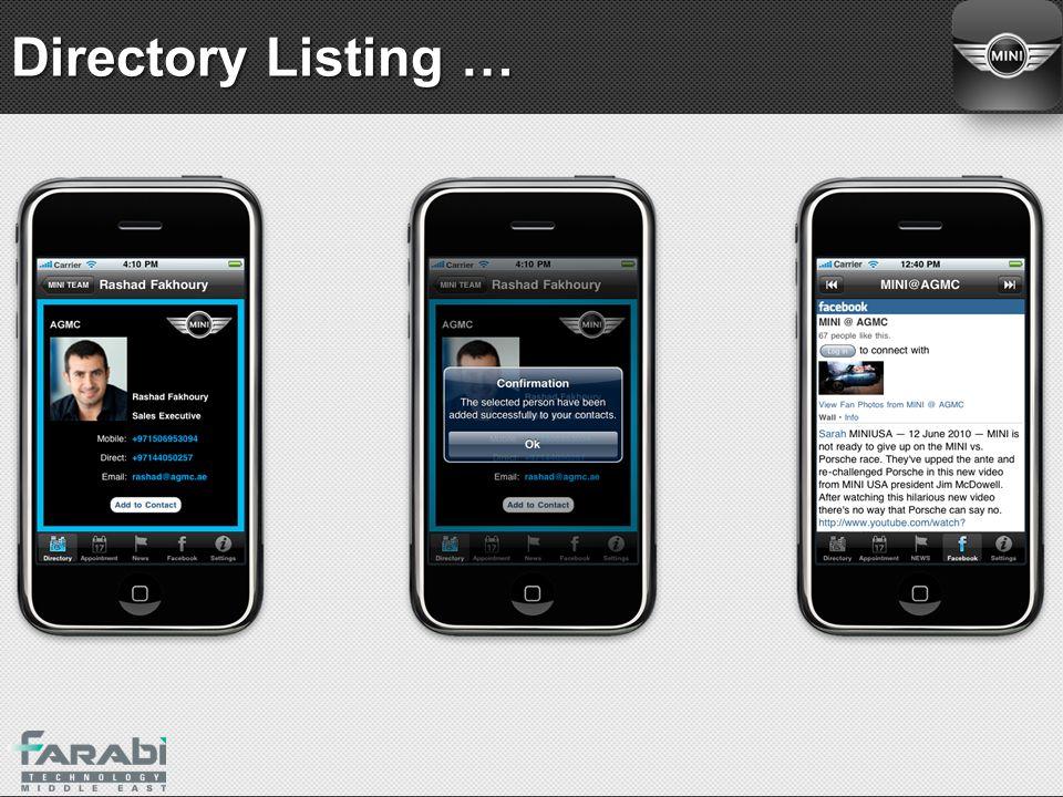 Directory Listing …