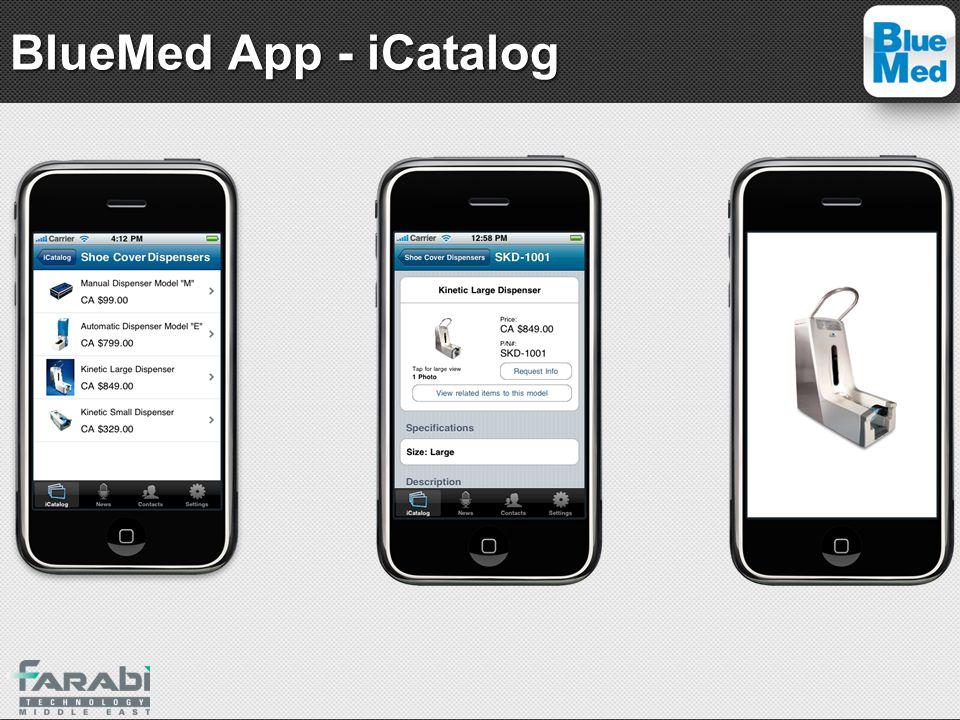BlueMed App - iCatalog