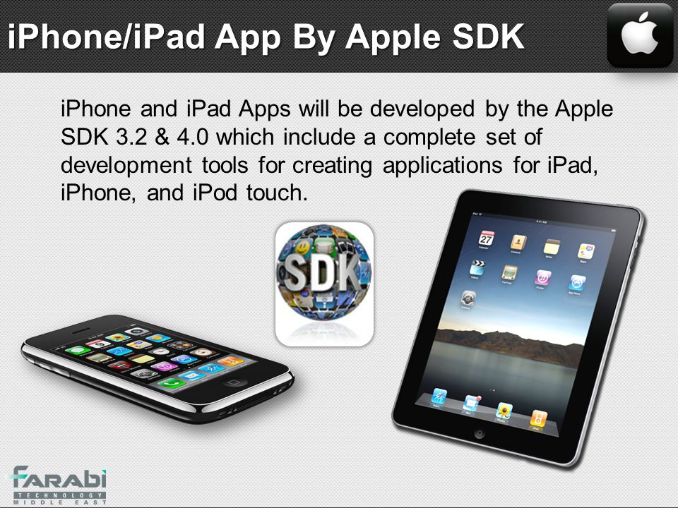 iPhone/iPad App By Apple SDK