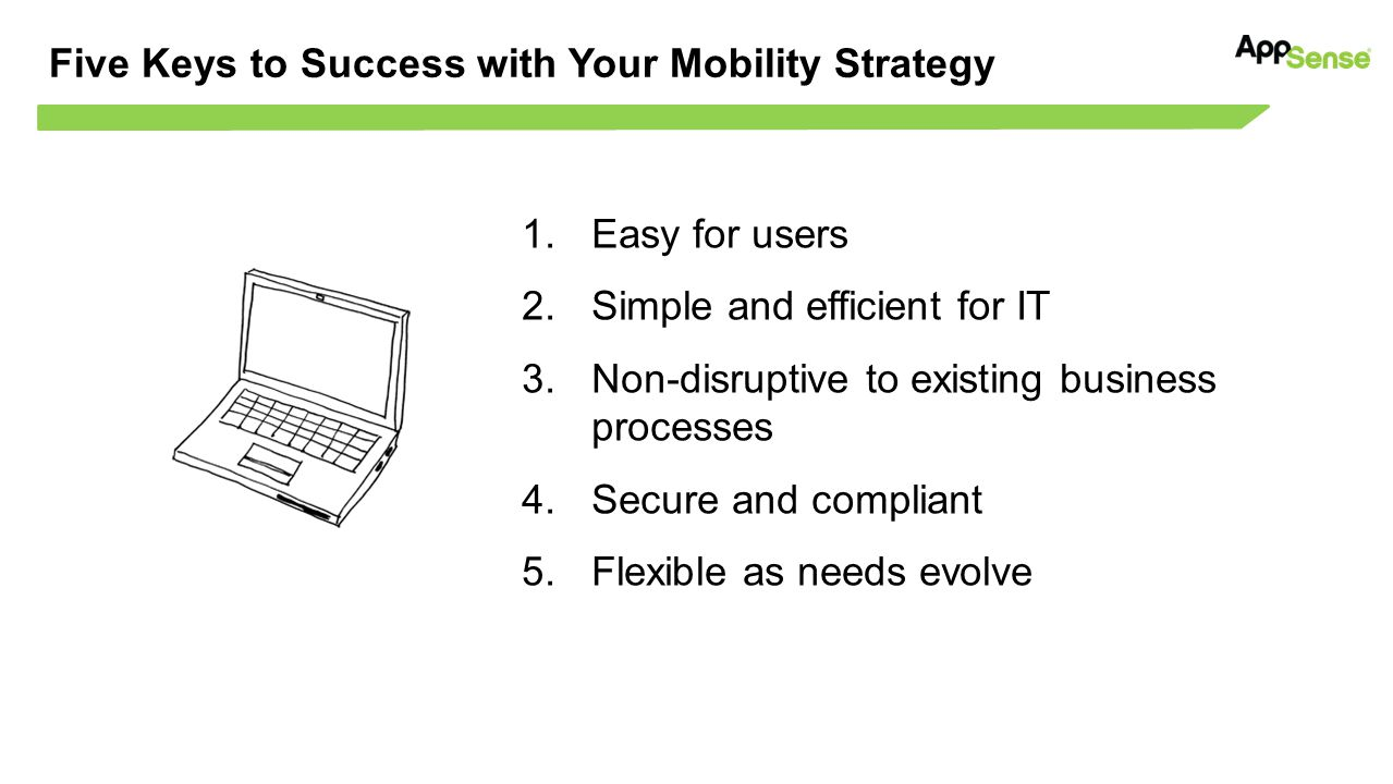 Five Keys to Success with Your Mobility Strategy