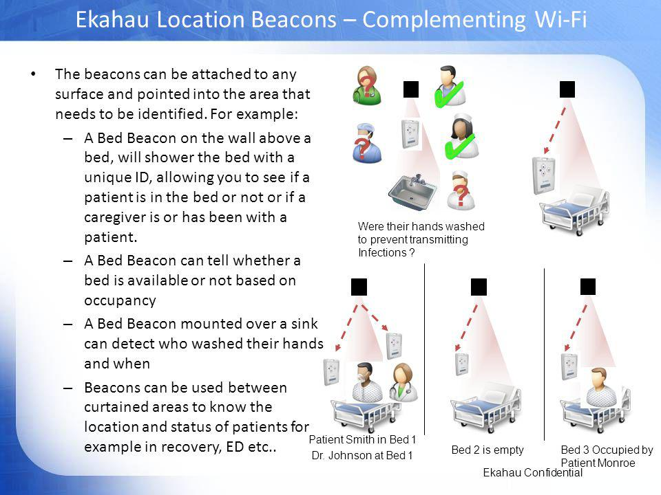 Ekahau Location Beacons – Complementing Wi-Fi