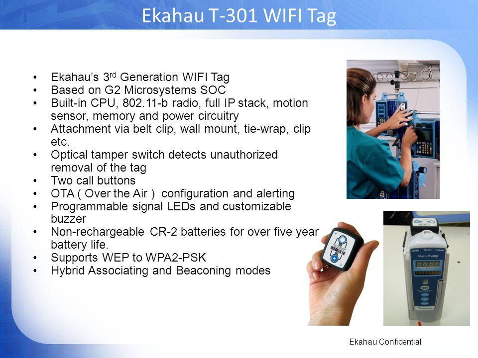 Ekahau T-301 WIFI Tag Ekahau's 3rd Generation WIFI Tag