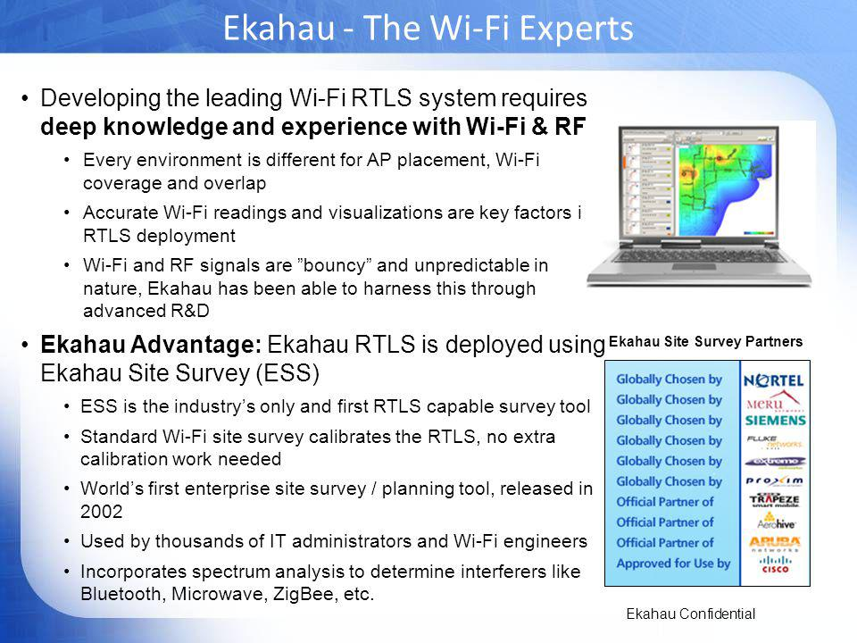 Ekahau - The Wi-Fi Experts