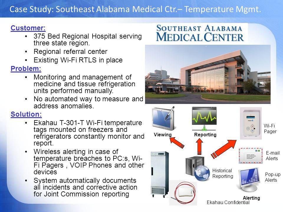 Case Study: Southeast Alabama Medical Ctr.– Temperature Mgmt.