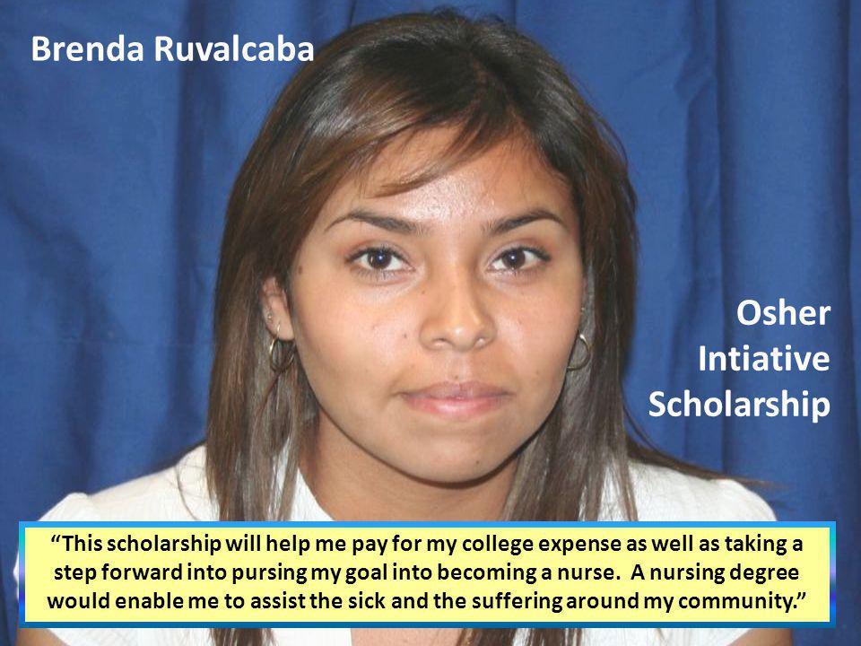 Osher Intiative Scholarship