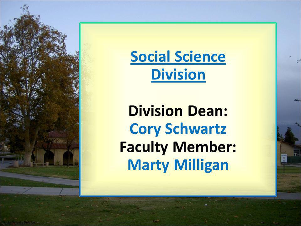 Social Science Division