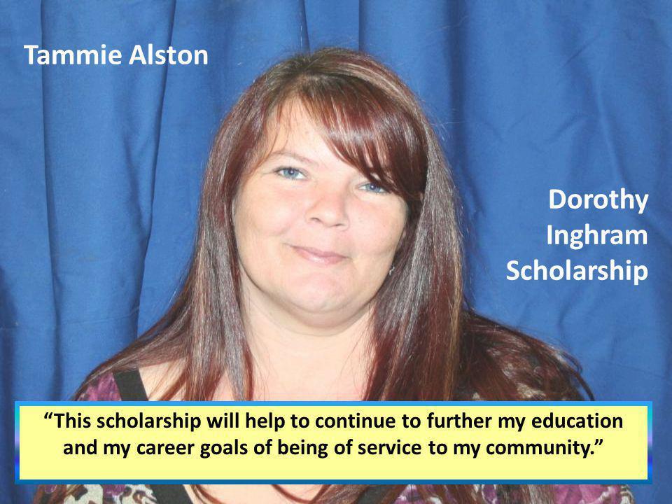Dorothy Inghram Scholarship