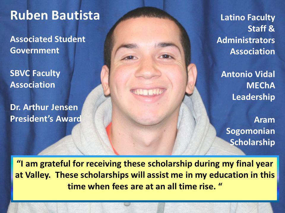Ruben Bautista Latino Faculty Staff & Administrators Association