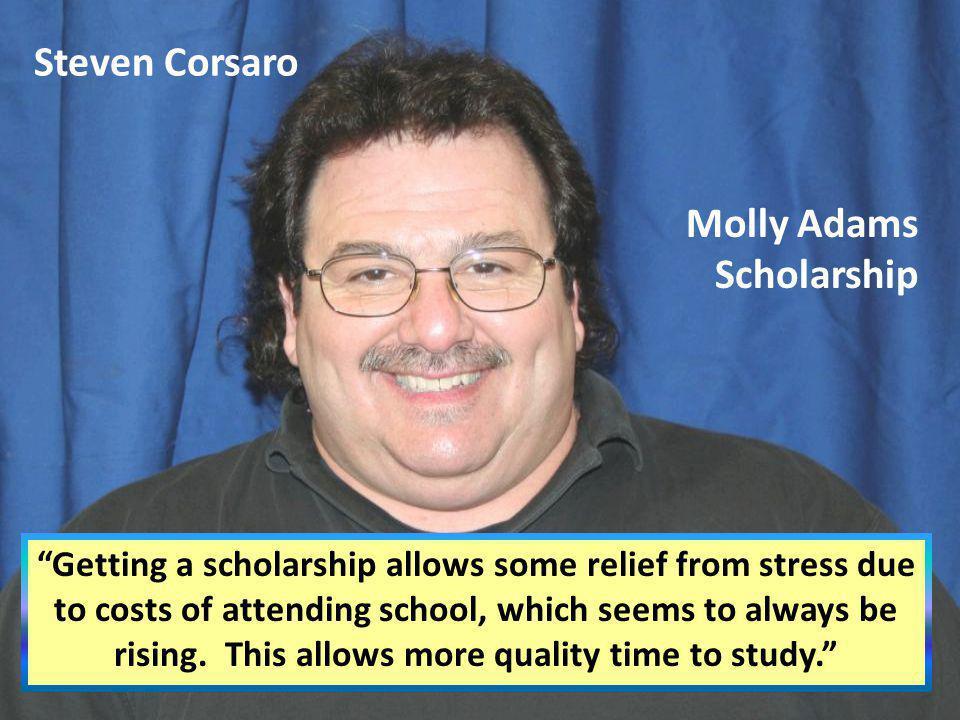 Steven Corsaro Molly Adams Scholarship