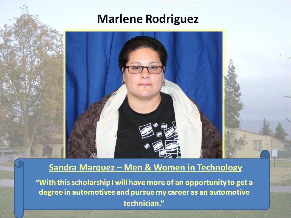 Sandra Marquez – Men & Women in Technology