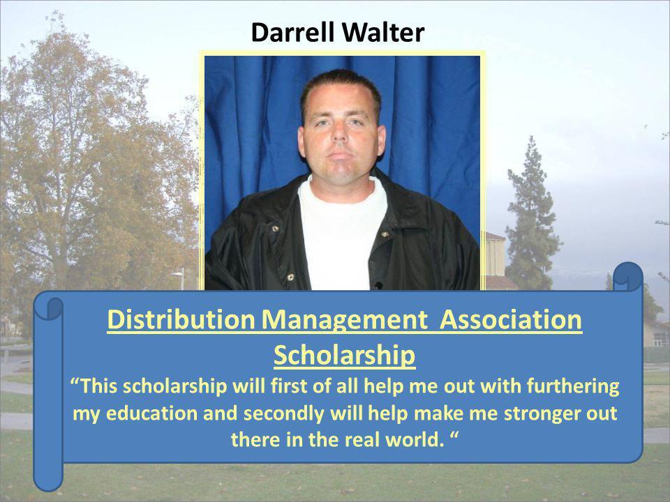Distribution Management Association Scholarship