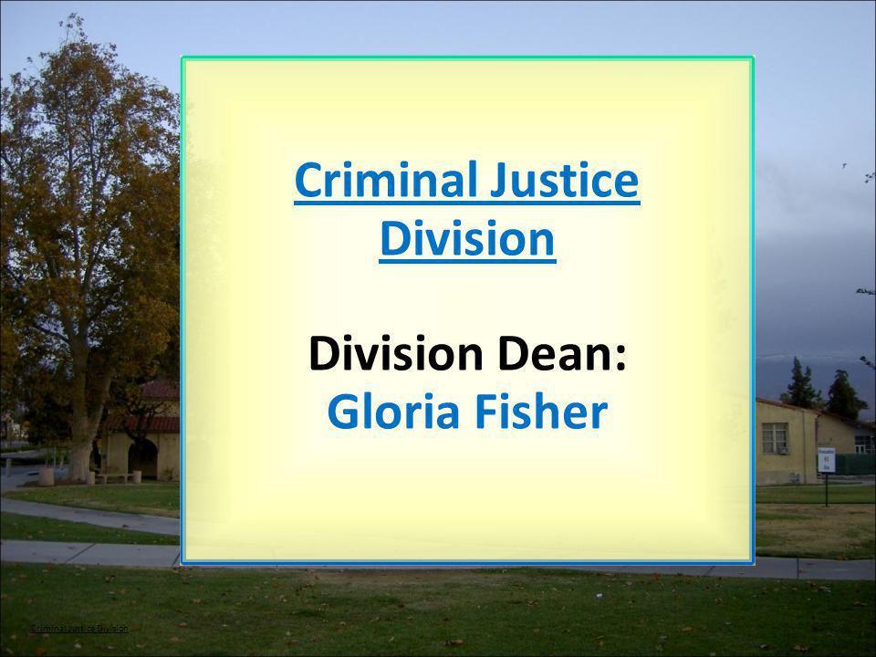 Criminal Justice Division