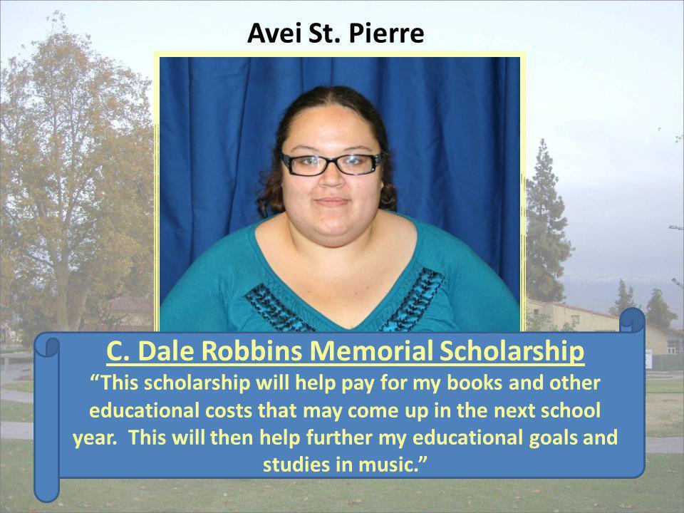 C. Dale Robbins Memorial Scholarship