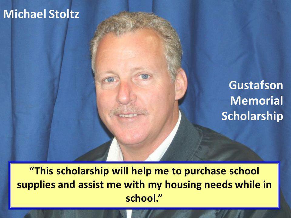 Gustafson Memorial Scholarship