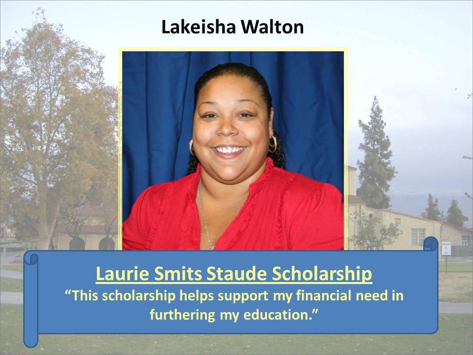 Laurie Smits Staude Scholarship