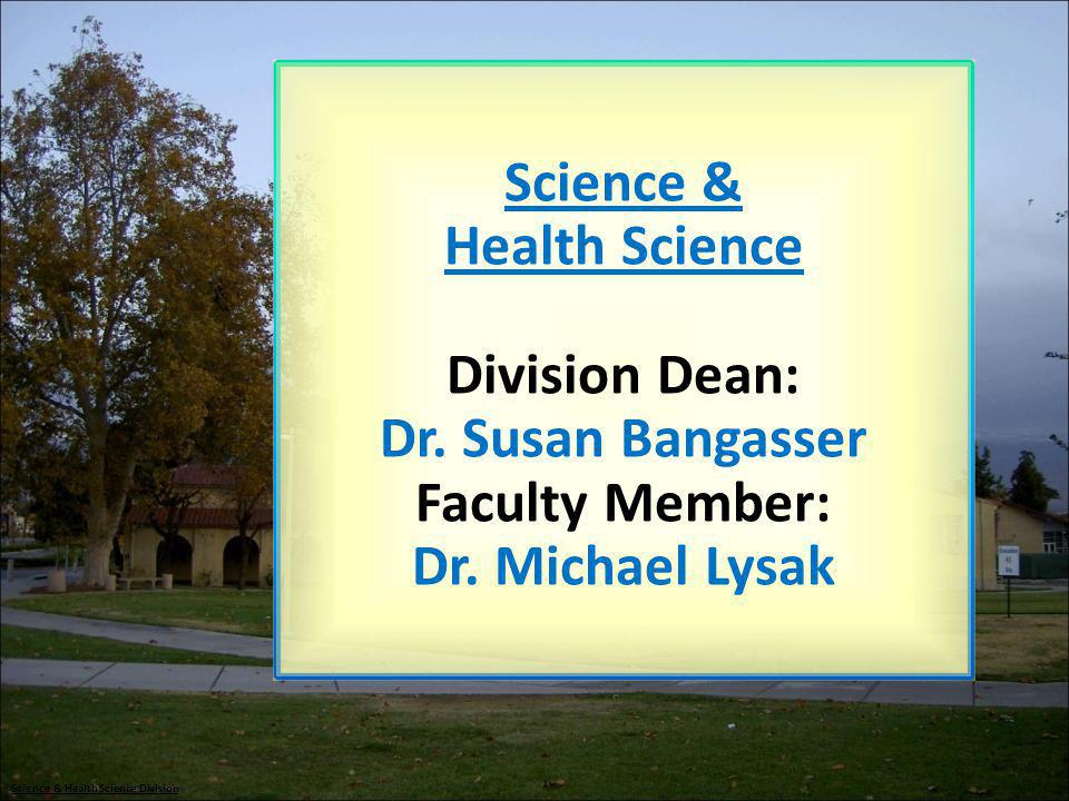 Science & Health Science Division
