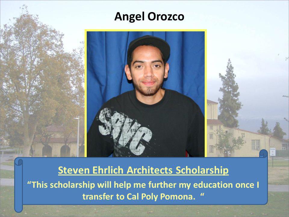 Steven Ehrlich Architects Scholarship