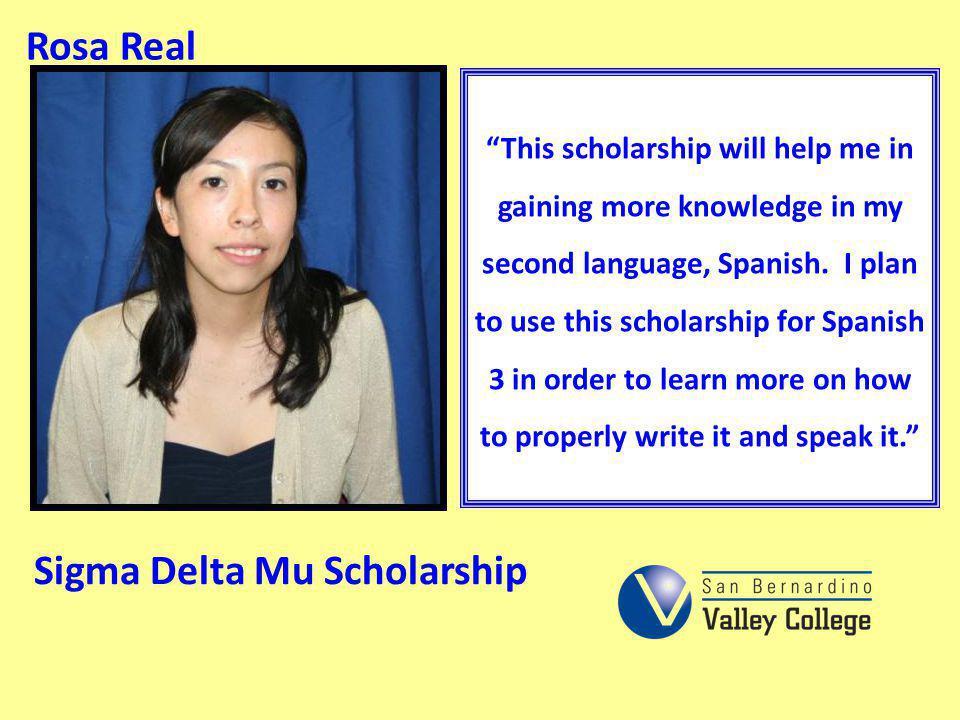 Sigma Delta Mu Scholarship
