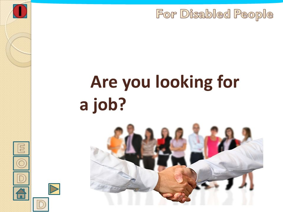 Are you looking for a job