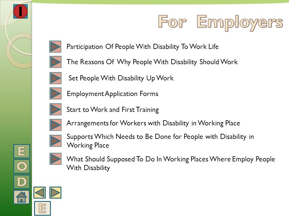 For Employers Participation Of People With Disability To Work Life. The Reasons Of Why People With Disability Should Work.