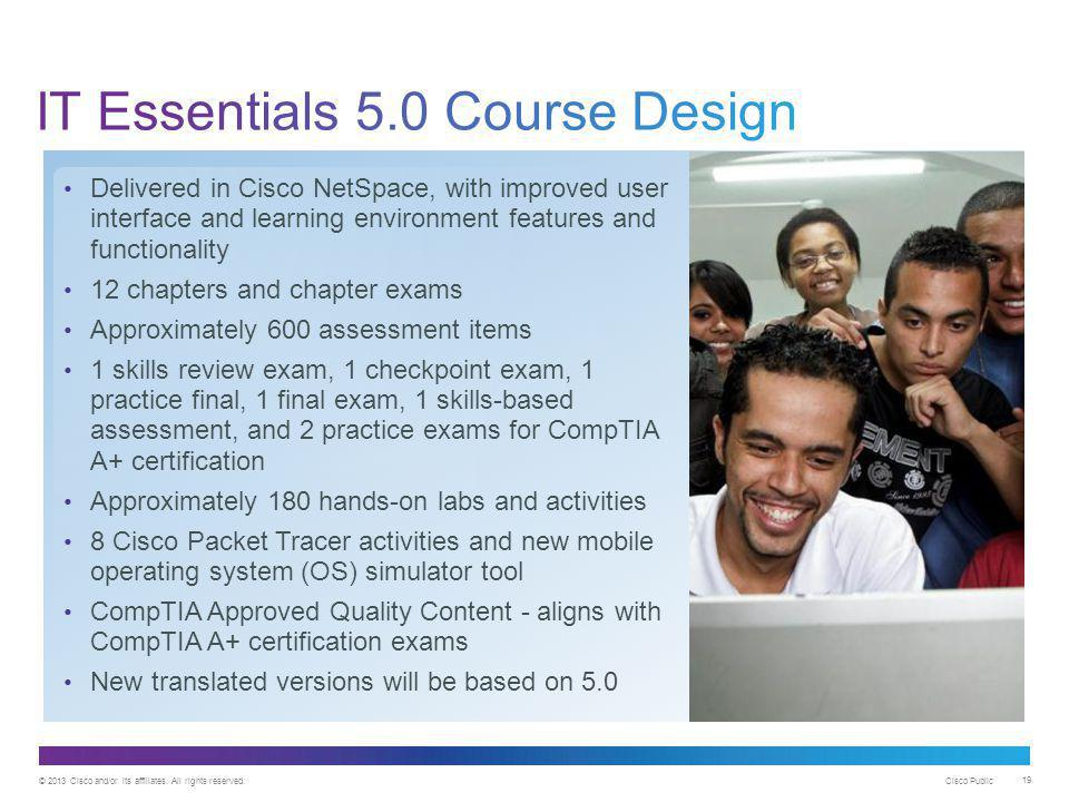 IT Essentials 5.0 Course Design