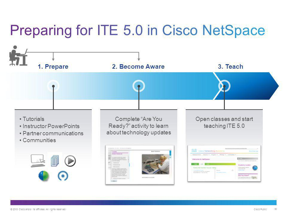 Preparing for ITE 5.0 in Cisco NetSpace
