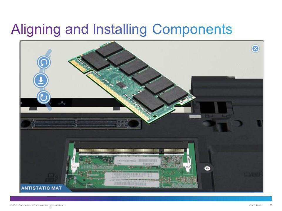 Aligning and Installing Components