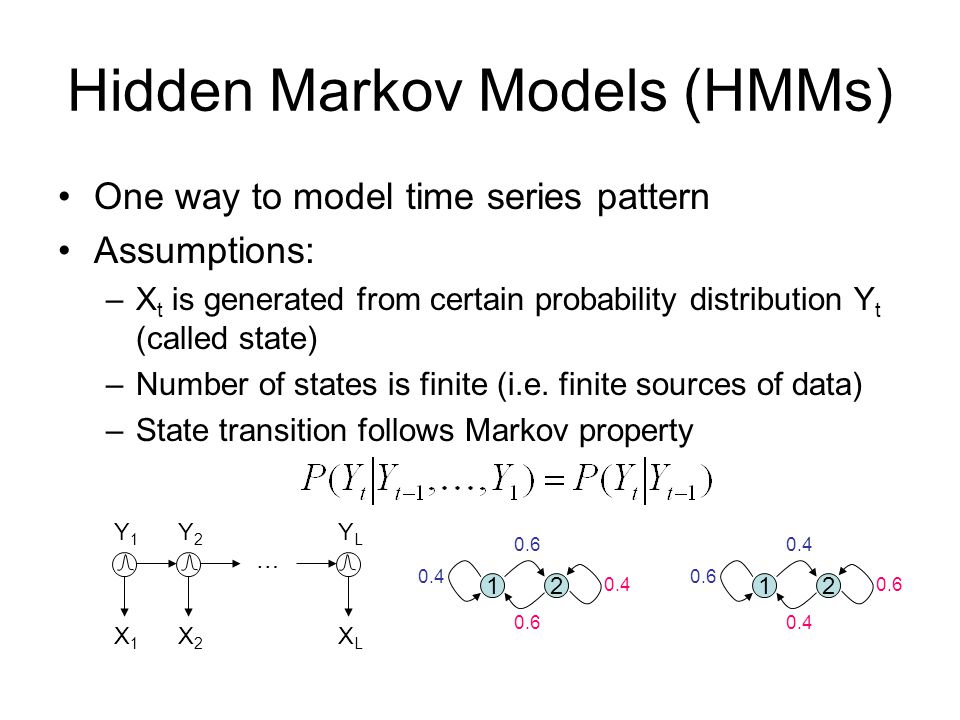 Hidden Markov Models (HMMs)