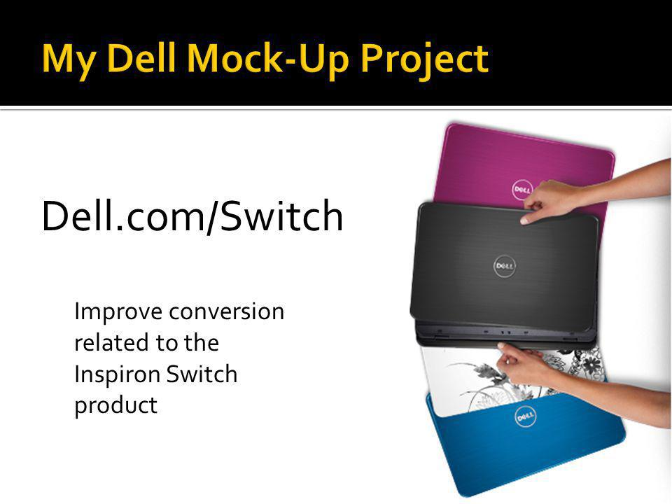 My Dell Mock-Up Project