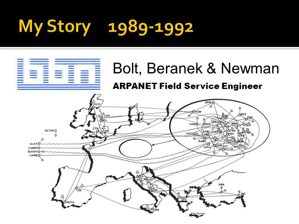 My Story 1989-1992 Bolt, Beranek & Newman
