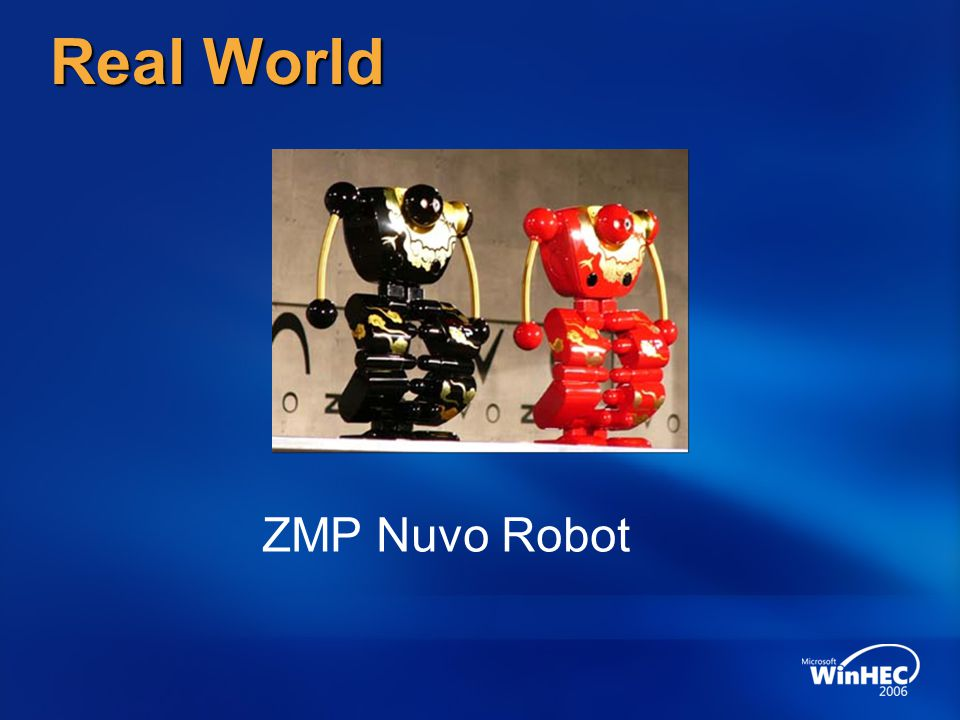 Real World ZMP Nuvo Robot 3/31/2017 10:04 PM