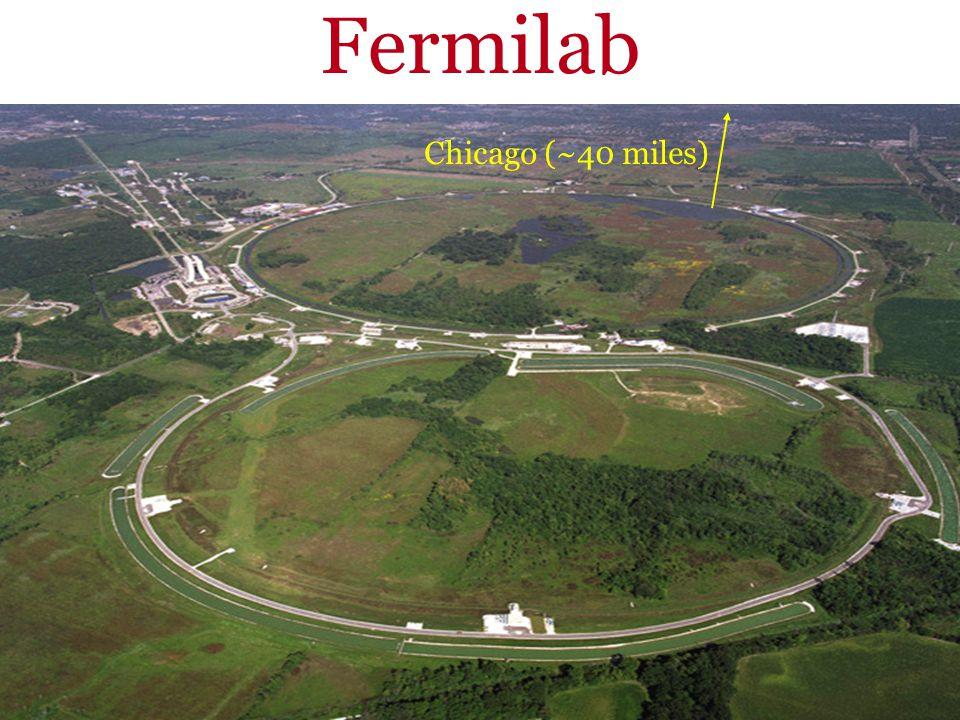 Fermilab Chicago (~40 miles)