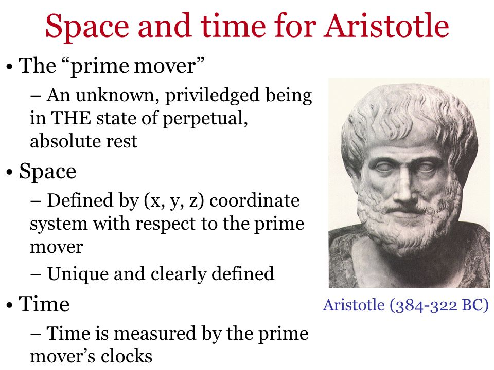 Space and time for Aristotle