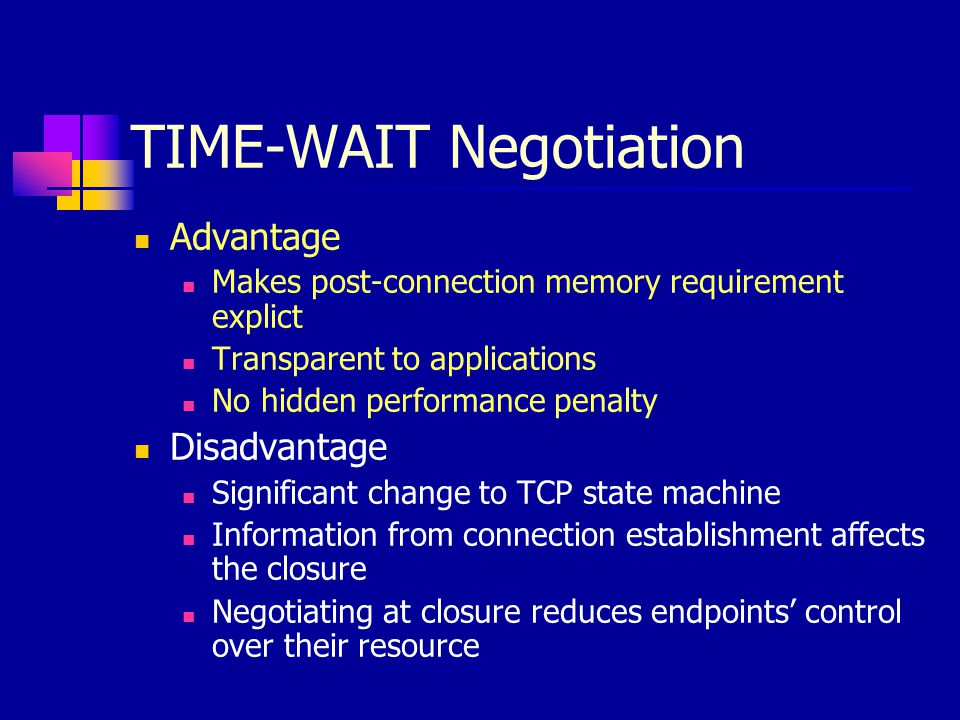 TIME-WAIT Negotiation