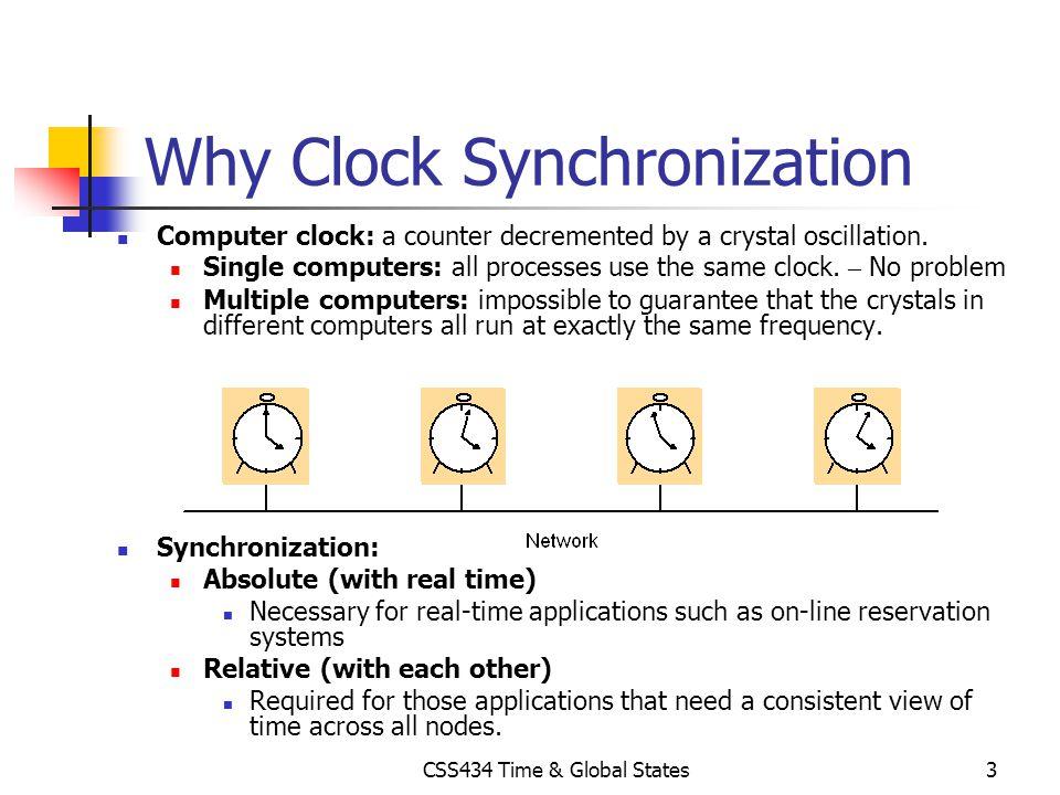 Why Clock Synchronization