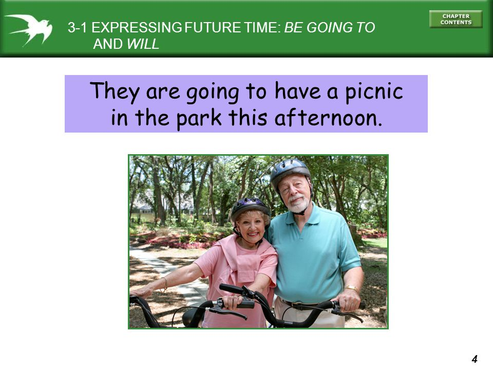 They are going to have a picnic in the park this afternoon.