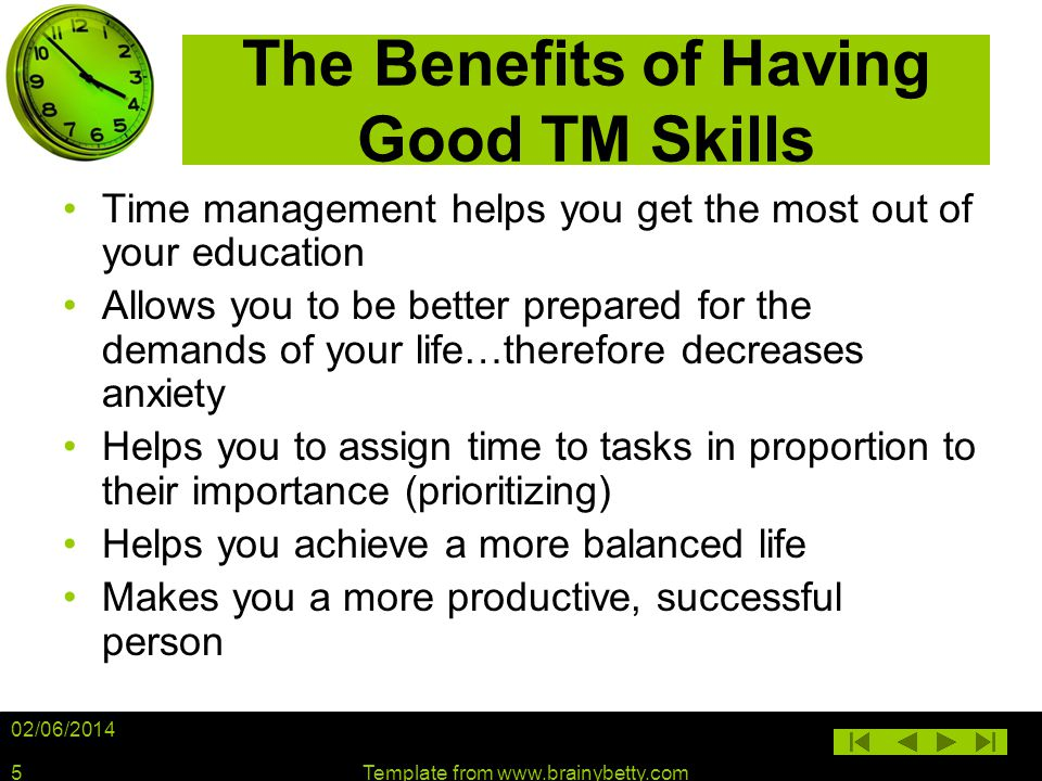 The Benefits of Having Good TM Skills