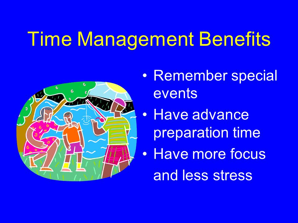 Time Management Benefits