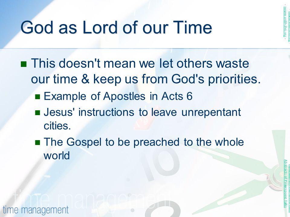 God as Lord of our Time - newmanlib.ibri.org - - newmanlib.ibri.org -
