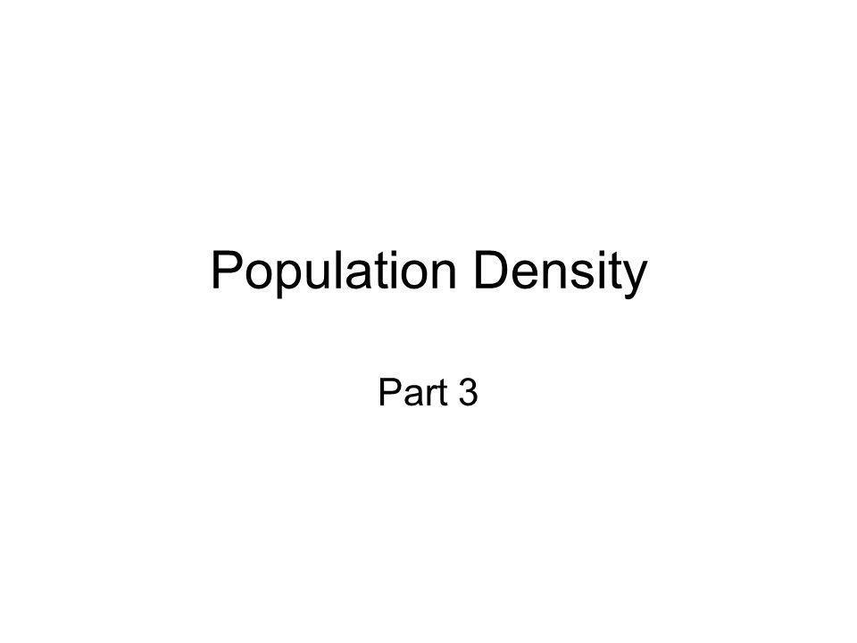 Population Density Part 3