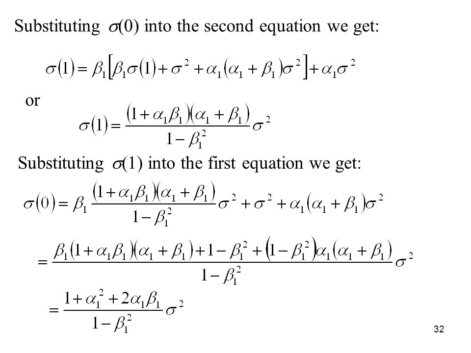 Substituting s(0) into the second equation we get: