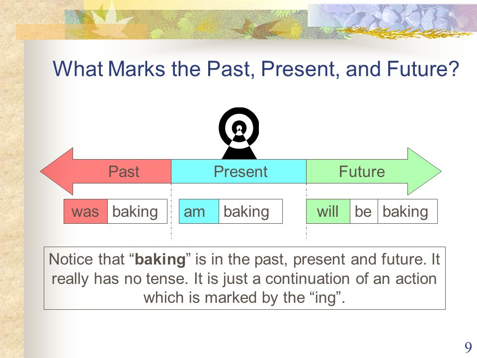 What Marks the Past, Present, and Future