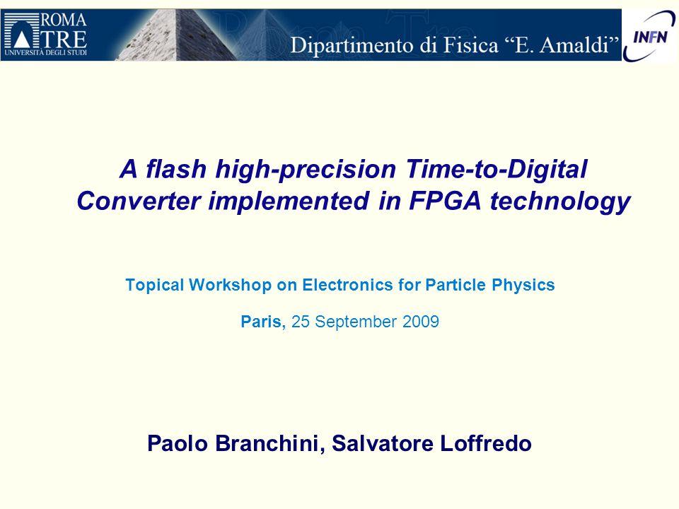 Paolo Branchini, Salvatore Loffredo