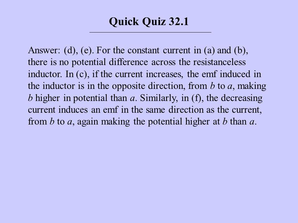 Quick Quiz 32.1