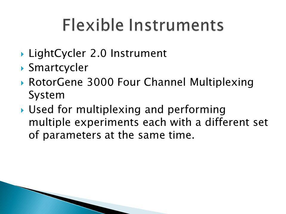 Flexible Instruments LightCycler 2.0 Instrument Smartcycler