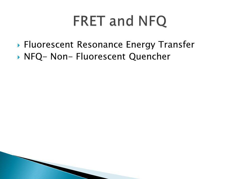 FRET and NFQ Fluorescent Resonance Energy Transfer