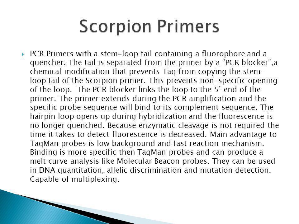 Scorpion Primers